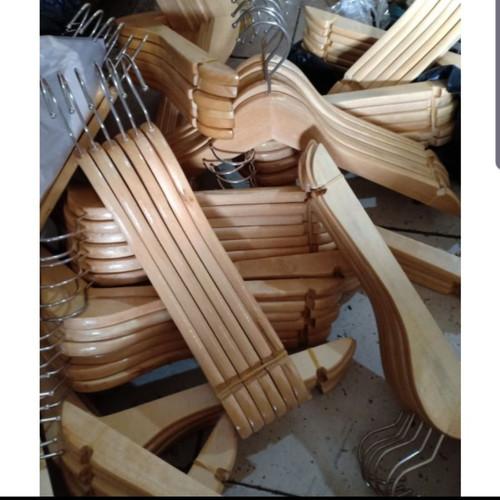 Foto Produk Hanger kayu dewasa dari TokoHangerSPM