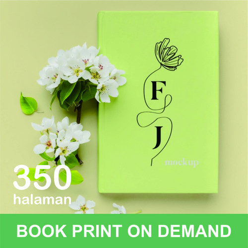 Foto Produk Print Buku - Print Book on Demand - A5 - max 350 halaman - HVS 70, DOFF dari A1 Digital Print Offset
