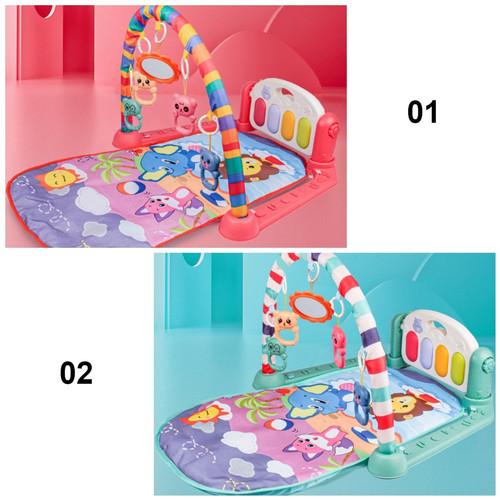 Foto Produk RB-M15-16 Baby Play Gym Mainan Anak Bayi Rattle & Piano Playmat Matras - Playgym 910, 01 dari RB TOYS AND TECHNOLOGY