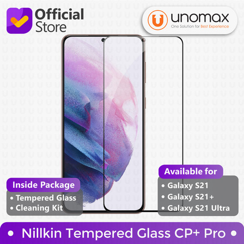 Foto Produk Tempered Glass Samsung Galaxy S21/Plus/Ultra Nillkin CP+ Pro - S21 Plus dari unomax