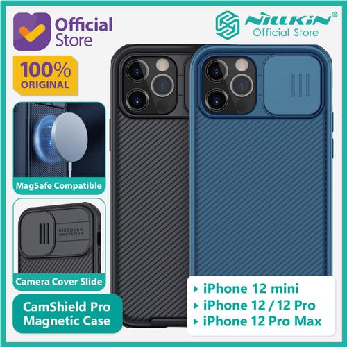Foto Produk Case iPhone 12/mini/Pro/Max Nillkin CamShield Magnetic MagSafe Camera - 12 Pro Max, Black dari Nillkin Official