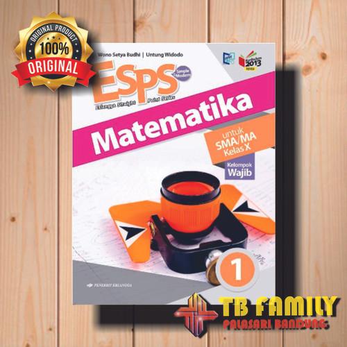 Foto Produk Buku ESPS MATEMATIKA SMA KLS 10 WAJIB Penerbit ERLANGGA dari family_online