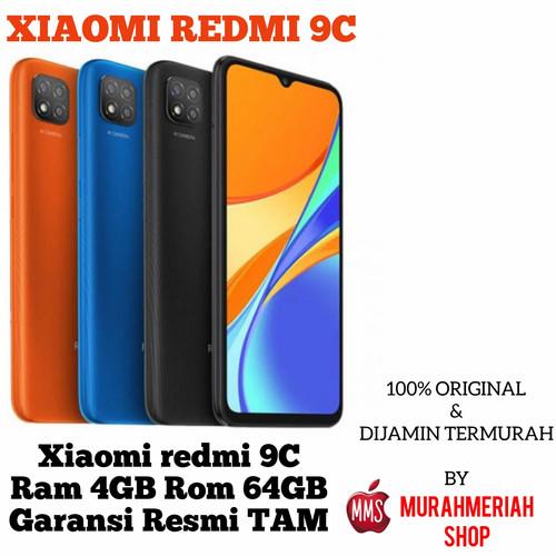 Foto Produk xiaomi redmi 9c 4/64Gb Garansi Resmi Tam - 3GB.32GB, orange dari murahmeriah shop