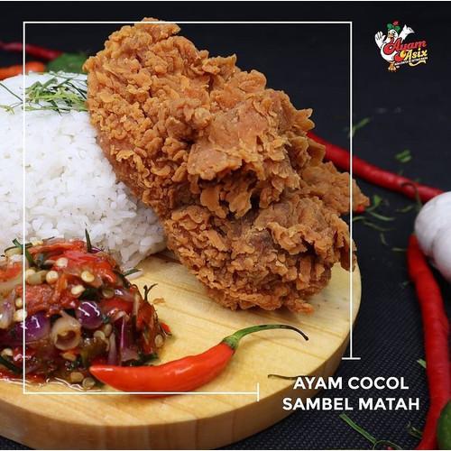 Foto Produk Ayam Asix sambal cocol Matah dari Ayam Asix Pantai Losari