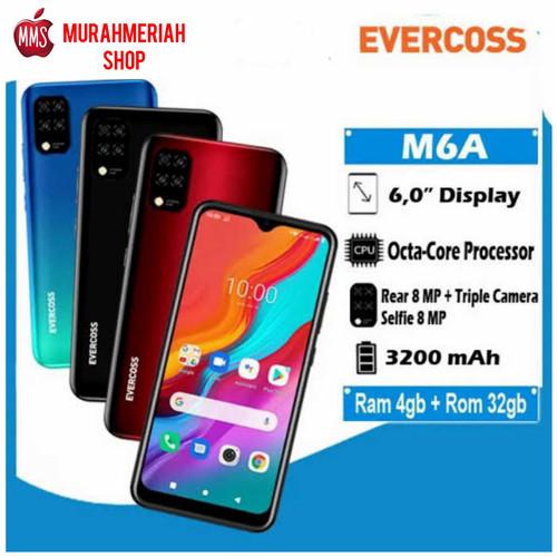 Foto Produk Evercoss M6A 4/32Gb Garansi Resmi - Hijau dari murahmeriah shop