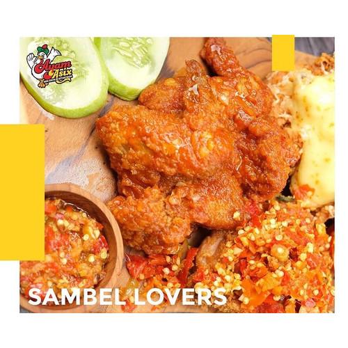 Foto Produk Ayam Asix sambel cocol original dari Ayam Asix Pantai Losari