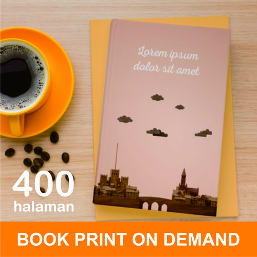 Foto Produk Print Buku - Print Book on Demand - A5 - max 400 halaman - HVS 70, DOFF dari A1 Digital Print Offset
