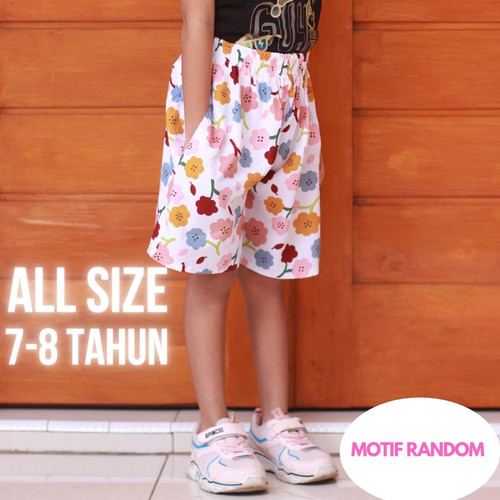 Foto Produk Celana pendek anak cewek usia 6-8 tahun dari idref fashion