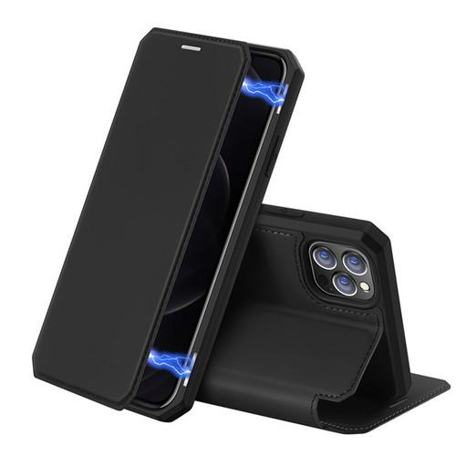 Foto Produk DUX DUCIS Flip Cover Case iPhone 12 Mini Case iPhone 12 Pro Max - Hitam, iP 12 Mini dari Cafele Official Store