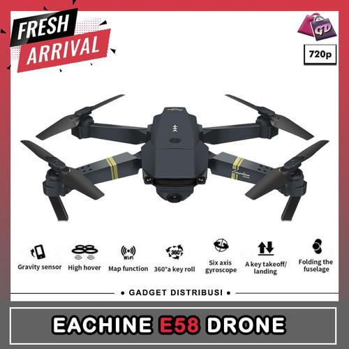 Foto Produk Eachine E58 Drone Foldable Quadcopter WIFI with 2MP Wide Angle Camera dari Gadget Distribusi