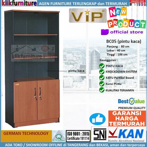 Foto Produk Lemari Buku / Rak Buku / Book Cabinet BC05 dari klikfurniture