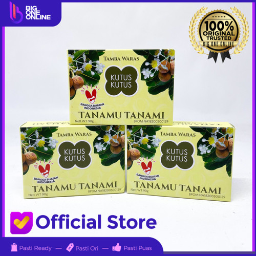 Foto Produk Kutus Kutus Sabun Tanamu Tanami Anniversary Sabun Mandi Kesehatan ORI dari BigOneOnline