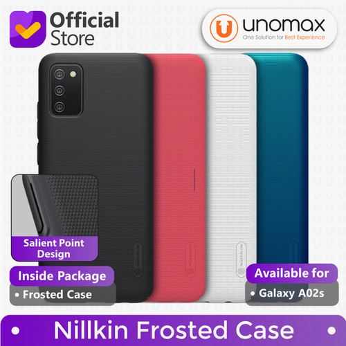 Foto Produk Hard Case Samsung Galaxy A02s Nillkin Frosted Casing - Black dari unomax
