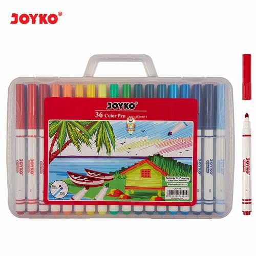Foto Produk Color Pen Joyko 36 Color ( Clp-17 ) dari Bali Stationery