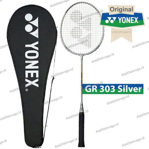 Foto Produk Raket Badminton / Bulutangkis Yonex Gr 303 silver 100% Original dari Alat Olahraga ID