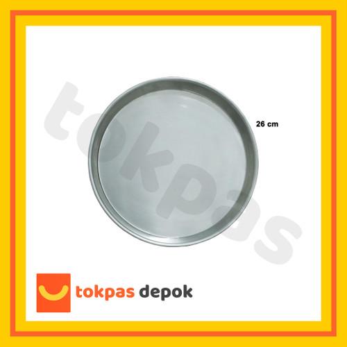 Foto Produk Loyang Nampan Pizza Ukuran 18 20 22 24 26 cm - 26 cm dari Tokpas Depok
