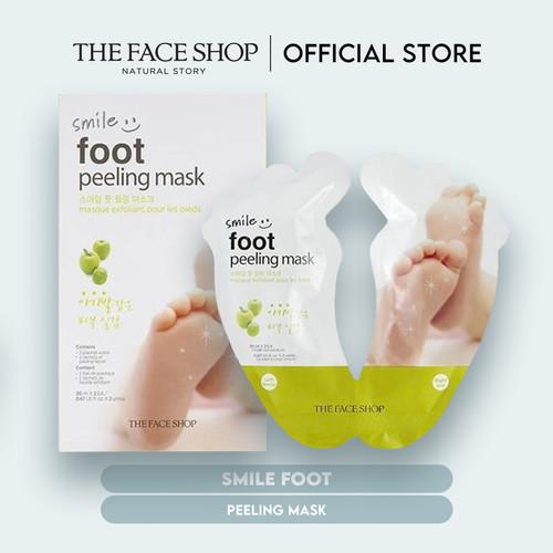 Foto Produk [The Face Shop] Smile Foot Peeling Mask - 20ml - Original dari The Face Shop Official