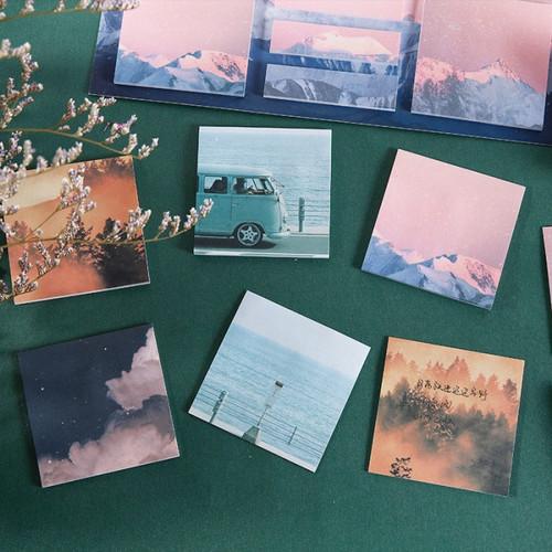 Foto Produk Cloud in My Sky Sticky Notes Set dari Pinkabulous