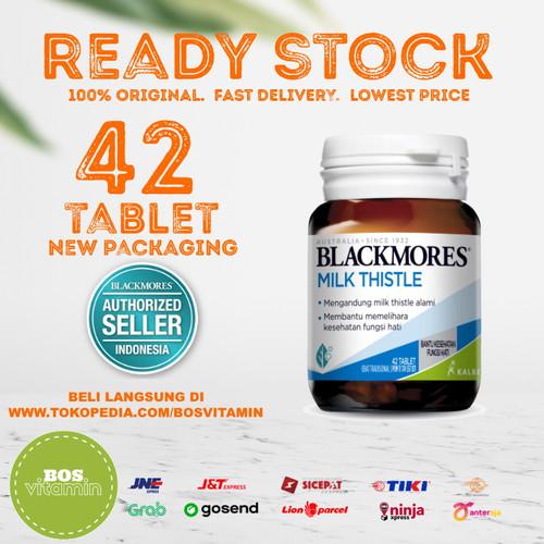 Foto Produk Blackmores Milk Thistle BPOM Kalbe - 42 Tablet dari Bos Vitamin
