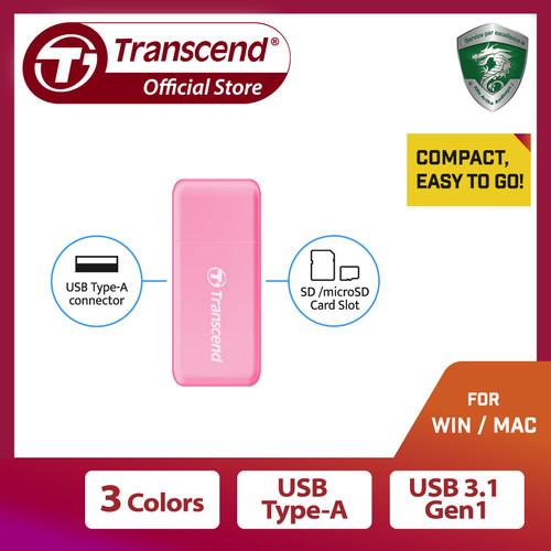 Foto Produk Transcend Card Reader USB 3.0 RDF5 - Merah Muda dari Transcend Indonesia