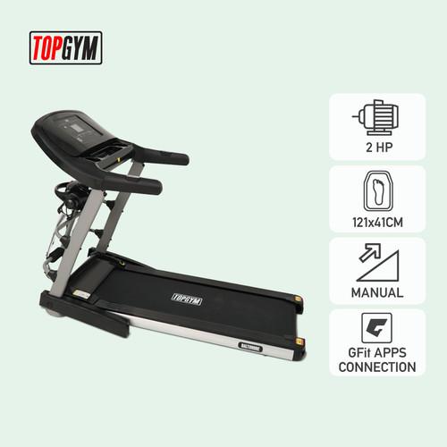 Foto Produk Alat Fitness Treadmill Elektrik Topgym Baltimore dari JACO TVS