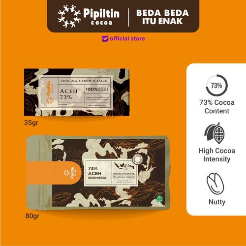 Foto Produk Chocolate Bar Aceh 73% - 35gr dari Pipiltin Cocoa