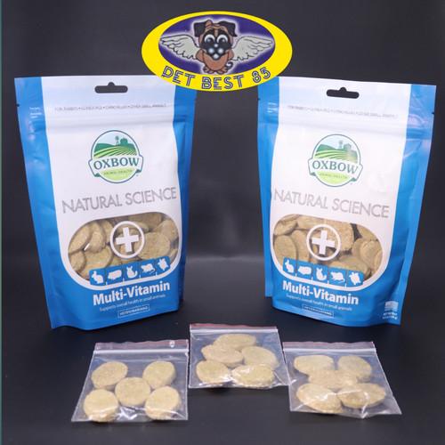 Foto Produk Ecer vitamin kelinci oxbow Multivitamin komplit 5 tabs for herbivor dari PET BEST 85