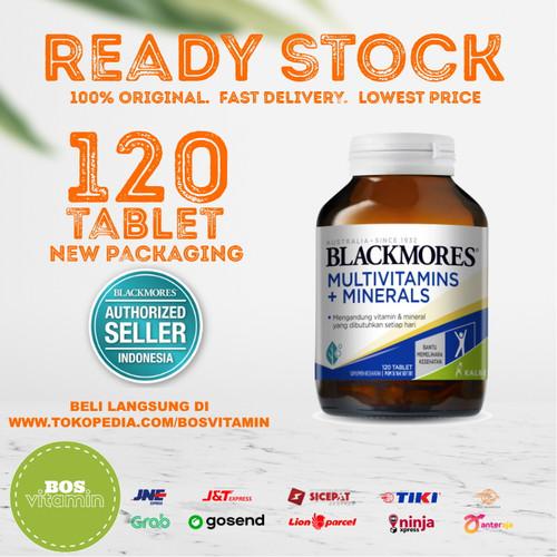 Foto Produk Blackmores Multivitamins + Minerals BPOM Kalbe - 120 tablet dari Bos Vitamin