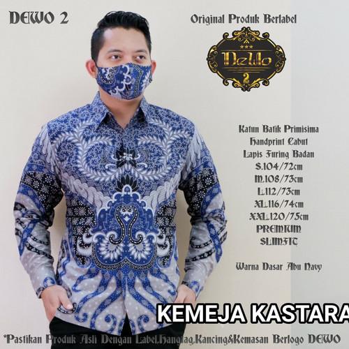 Foto Produk kemeja batik pria lengan panjang slim fit dari Jivan Batik