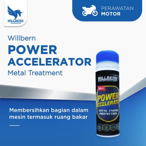 Foto Produk Willbern Power Accelerator (50ml) untuk Motor - Metal Treatment Fluids dari WillbernOfficial