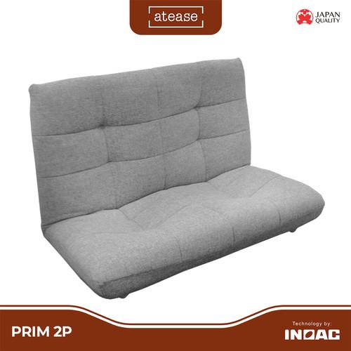 Foto Produk Atease Prim 2P - Reclining Floor Chair Sofa - by Inoac Living - Beige dari INOAC Official