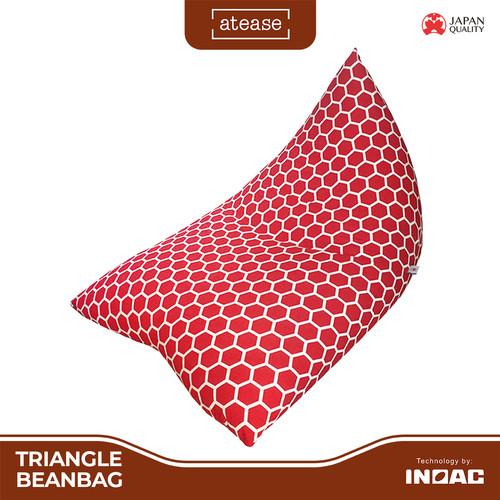 Foto Produk Bean Bag Triangle by ATEASE INOAC - Hitam dari INOAC Official