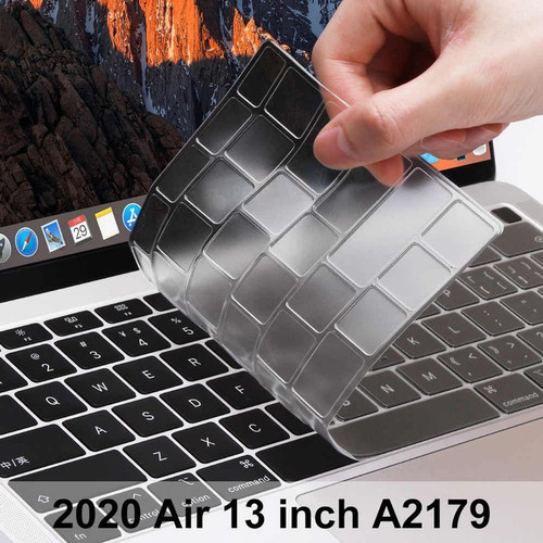 Foto Produk KEYBOARD PROTECTOR NEW MACBOOK AIR M1 13 2020 2021 COVER A2337 A2179 dari luxer