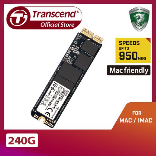 Foto Produk Transcend PCIe SSD for Mac JetDrive 820 - 240GB dari Transcend Indonesia