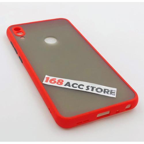 Foto Produk CASE ASUS ZENFONE MAX PRO M1 PC LIST COLOR / CASE ZB601KL / ZB602KL - Merah dari 168ACCSTORE