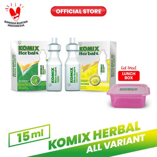 Foto Produk Komix Herbal Tube Lemon & Original FREE Lunchbox dari Bintang Toedjoe Official