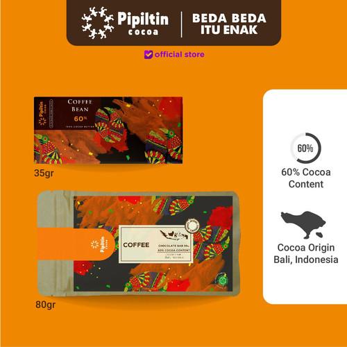 Foto Produk Chocolate Bar Coffe Bean - 35gr dari Pipiltin Cocoa