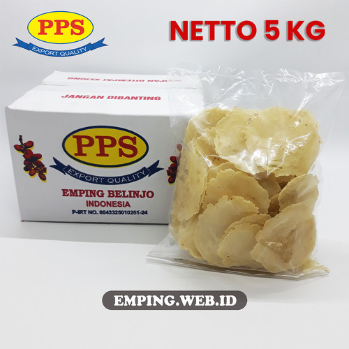 Foto Produk EMPING LEBAR TIPIS, 5 KG HARGA GROSIR 1000% MURAH EMPING PPS LIMPUNG dari PPS Official Store