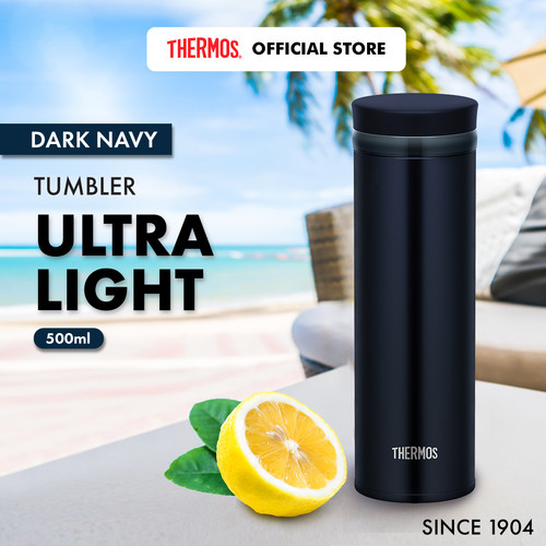 Foto Produk Thermos Tumbler Ultra Light - Dark Navy 500ml (JNO-502-DNVY) dari Thermos Indonesia