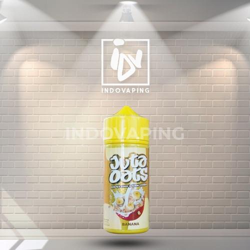 Foto Produk Liquid Vapor Vape - Juta Oats Banana 7mg 100ml By Vapeboss X RSR dari indovapingnet