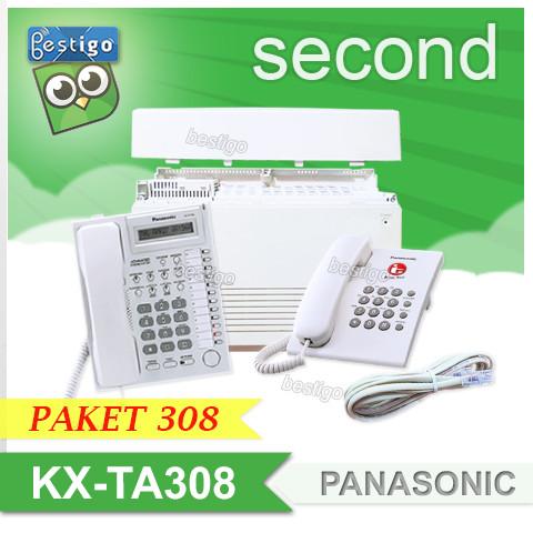 Foto Produk Pabx Panasonic KX-TA308 Paket kapasitas 3 line 8 extension dari BESTIGO PABX TELEPON