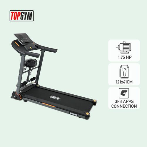 Foto Produk Alat Fitness Treadmill Elektrik Topgym Casablanca dari JACO TVS