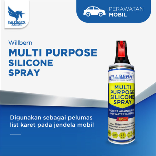 Foto Produk Willbern Multi Purpose Silicon Spray - 300ml dari WillbernOfficial