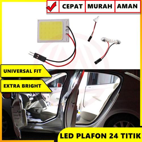 Foto Produk LAMPU LED KABIN PLAFON FESTOON COB PLASMA 24 TITIK TERANG UNIVERSAL dari Modifikasi Market