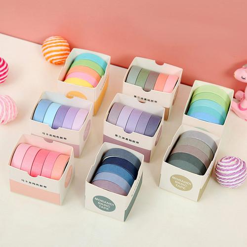 Foto Produk Masking Tape Set 5pc Essential Collection - Masking Tape - Selotip dari Pinkabulous