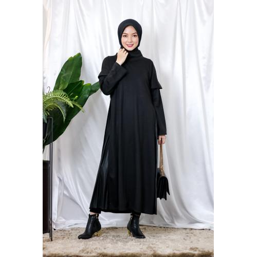 Foto Produk Mybamus Nuha Ayri Dress Black M15930 R31S3 dari Mybamus Official