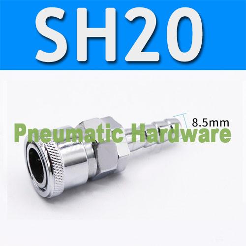 Foto Produk SH20 SH-20 SH 20 Male Plug Quick Coupler Connector hose kompresor KD44 dari Pneumatic dan Hardware