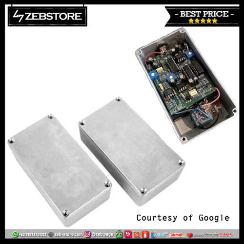 Foto Produk Material Box Case Pedal Effect Aluminium 1590B 111x60x31mm dari Zeb Hobbies Store