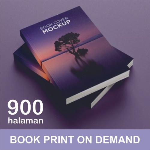Foto Produk Print Buku - Print Book on Demand - A5 - max 900 halaman - HVS 70, DOFF dari A1 Digital Print Offset