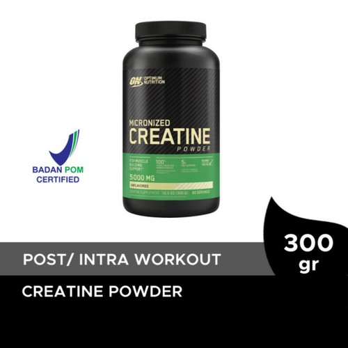 Foto Produk ON Creatine 300 gram 300gram 300gr 300g Monohydrate Optimum Nutrition dari Man Shop jakarta